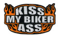 Kiss My Biker Ass Patch