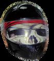 Pirate Motorcycle Helmet Visor.