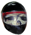 Pirate Motorcycle Helmet Visor.