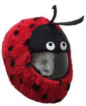 Lady Bug Motorcycle Helmet Cover