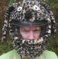 Leopard Motorcycle Helmet Cover