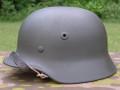 Metal WWII Reproduction German Novelty Motorcycle Helmet