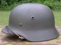 Metal WWII Reproduction German Novelty Motorcycle Helmet