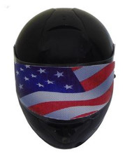 American Flag Motorcycle Helmet Visors Sticker