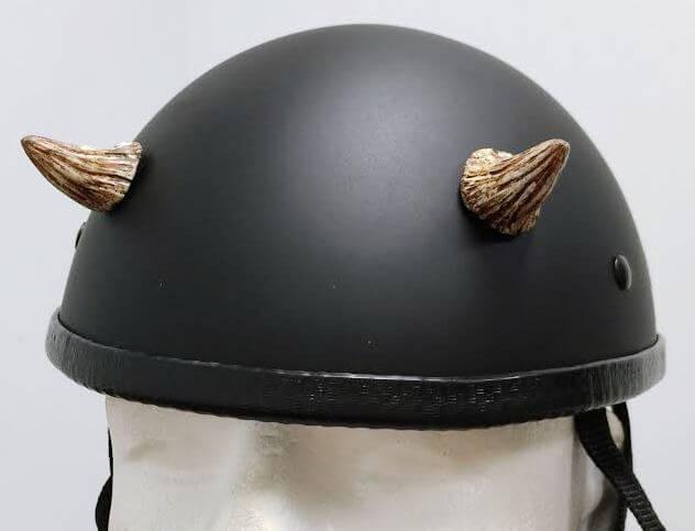 Helmet Devil Horns Helmet Devil Horns