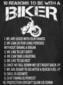 10 REASONS TO BE WITH A BIKER T-Shirt