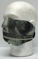 Hundred Dollar Bill Half Neoprene Face Mask