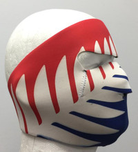 New Zealand Flag Neoprene Face Mask