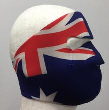 Australian Flag Neoprene Face Mask