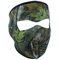 Forest Camo Neoprene Face Mask