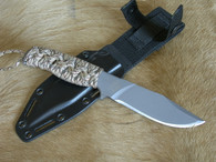 MISSION MPS-TI 10 Titanium Knife plain edge pilot survival BACK IN STOCK!