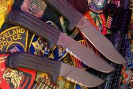 MISSION knife MPK-TI 12 titanium fixed blade Serrated FREE US SHIPPING!