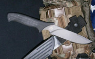MISSION MPT Titanium fixed blade knife Plain edge USA  FREE US SHIPPING!