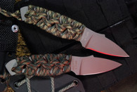 MISSION MPU 7 TITANIUM FIXED BLADE UTILITY KNIFE PLAIN