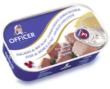 Officer Smoked Cod Liver