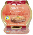 Les Mouettes d'Arvor Salmon Rillettes with Lemon and Dill