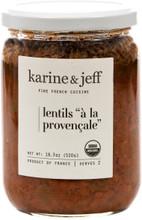Organic Lentils à la Provençale