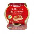 Les Mouettes d'Arvor Sardine Rillettes with Fresh Tomato