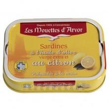 Les Mouettes d'Arvor Sardines with Olive Oil and Lemon