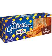 Brioche Pasquier Whole Wheat Grilletine Toasted Bread