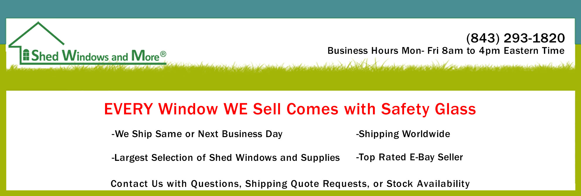 Shed windows coupon code