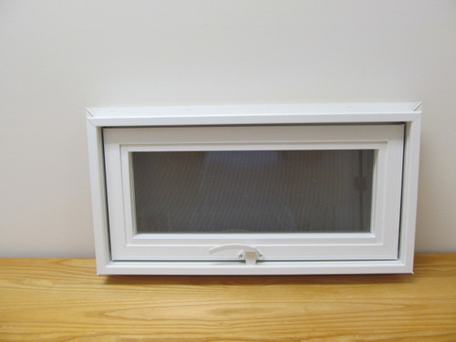 24 X 12 Awning Transom Insulated Glass Vinyl Window
