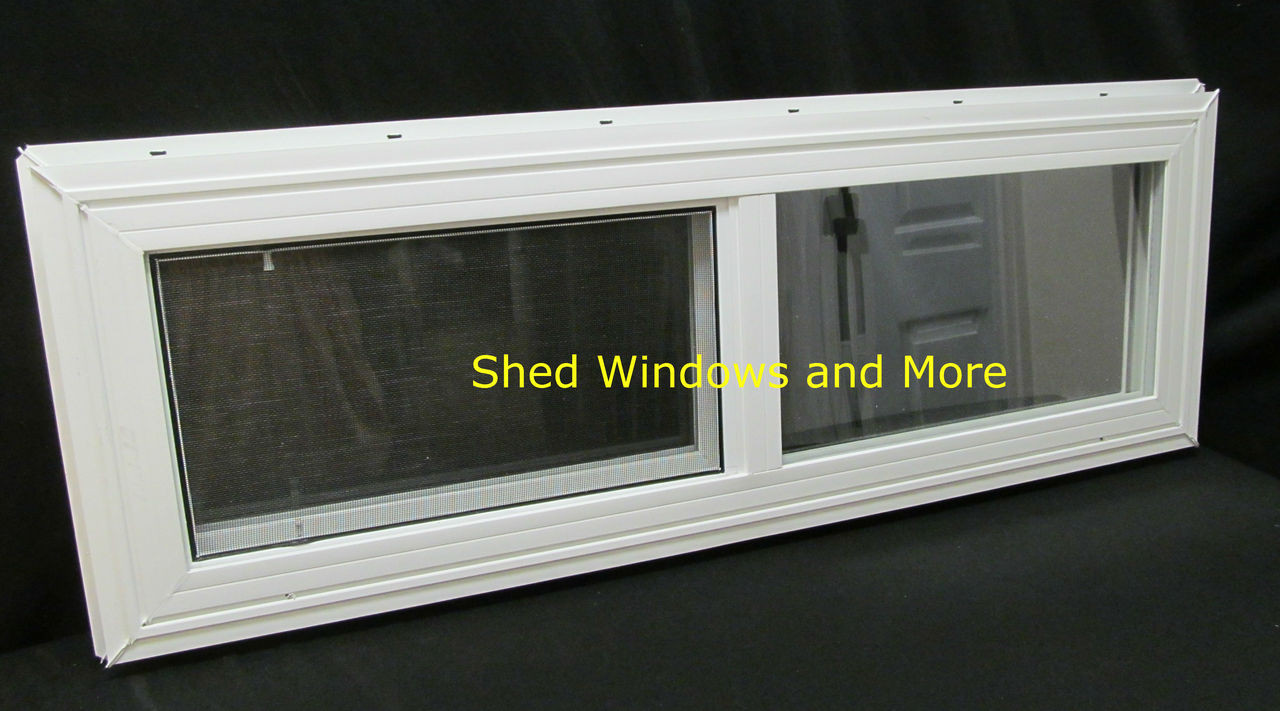 36 Quot X 12 Quot Double Pane Horizontal Sliding Vinyl Window