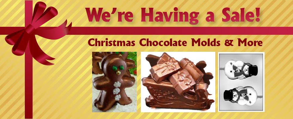 christmas chocolate molds