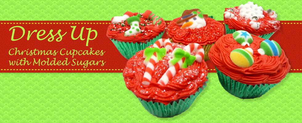 christmas molded sugars