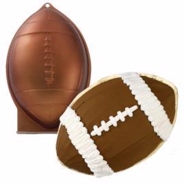 3d football cake pan