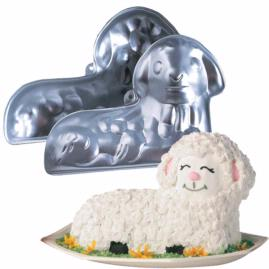 3d lamb cake pan