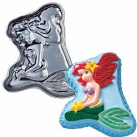 Little Mermaid Ariel Cake Pan