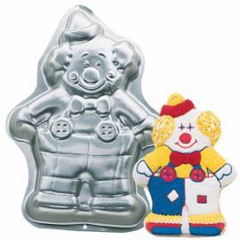 cute clown cake pan