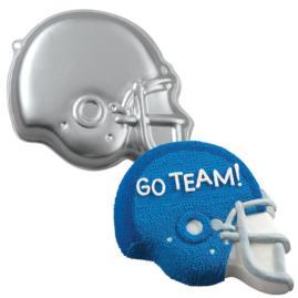 football helmet cake pan
