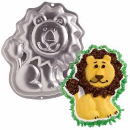 friendly lion cake pan
