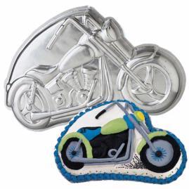 Motorcycle cake pan