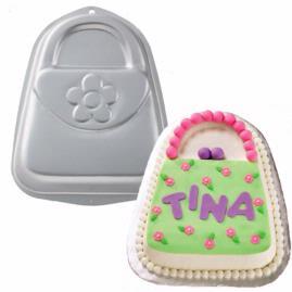 purse cake pan