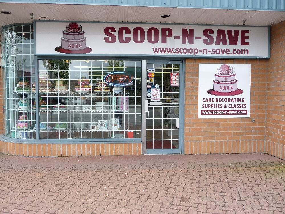 Scoop n Save Cake Supplies