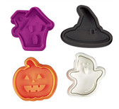 Halloween Plunger Cutters ( 4 pc )