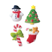 Merry Minis Christmas Molded Sugar