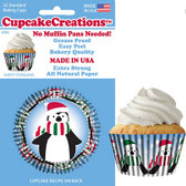 Happy Penguin Cupcake Liners
