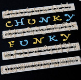 Chunky Funky Alphabet Set