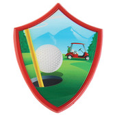 Golf Plaque Cake Topper