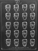 Mini Skull Chocolate Mold