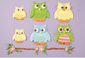 Owl Patchwork Cutter Set