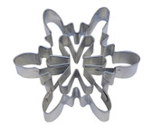 """Snowflake """"A"""" Detailed Cut Out Cookie Cutter"""
