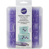 Wilton Alphabet and Number Cutter Set