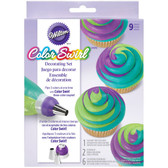 Cupcake Color Swirl Decorating Kit
