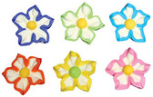 Star Flowers Molded Sugars