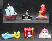 Pirate Assorted Candles